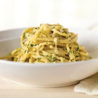 Creamy Green Spaghetti.
