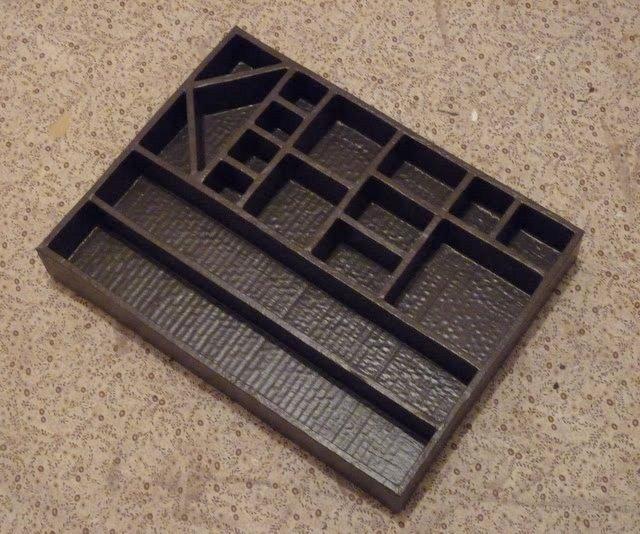fait main par thecook s parateur de tiroir en carton. Black Bedroom Furniture Sets. Home Design Ideas