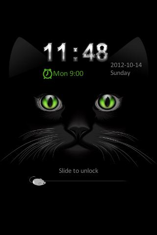 Go Locker Black Kitty