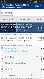 idealo Flugsuche - screenshot thumbnail