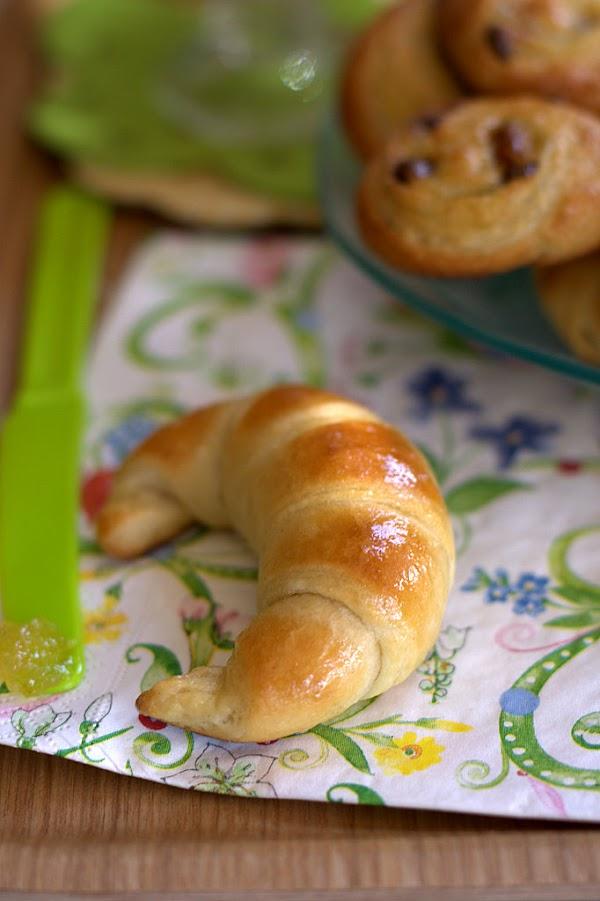 Croissants y caracolas