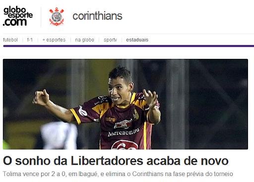 Corinthians – Vale a pena ver de novo! #Toliminado