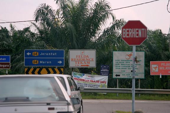 前往 Tekam Plantation Resort
