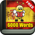 Learn Spanish 6,000 Words icon