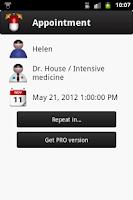 Screenshot of Pill App