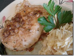 Chicken in Tarragon Sauce