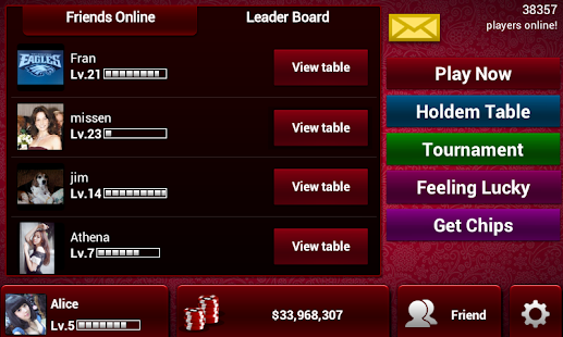 Poker KinG Online-Texas Holdem - screenshot thumbnail