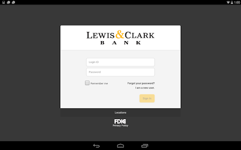 Lewis & Clark Mobile Banking - screenshot thumbnail