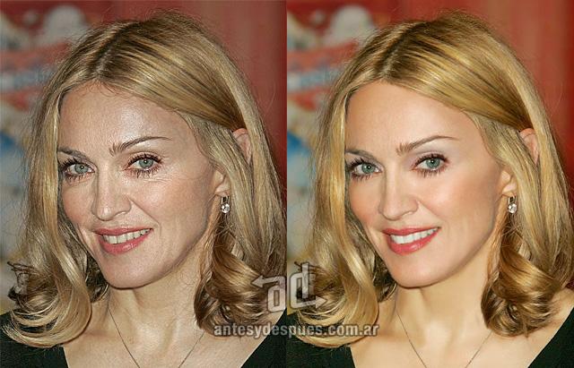 Madonna without Photoshop
