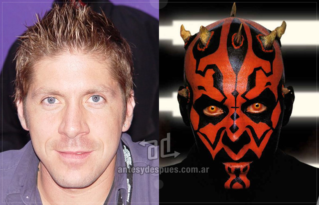 Ray Park behind the mask
