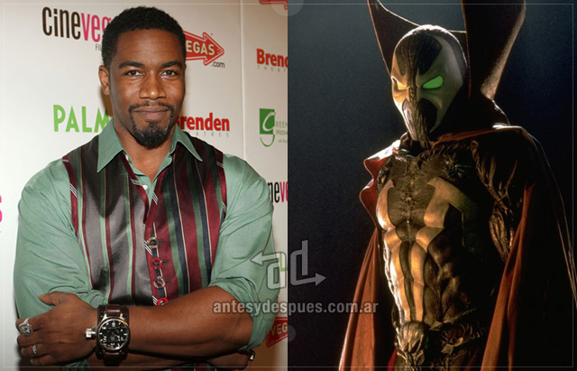 Michael Jai White behind the mask