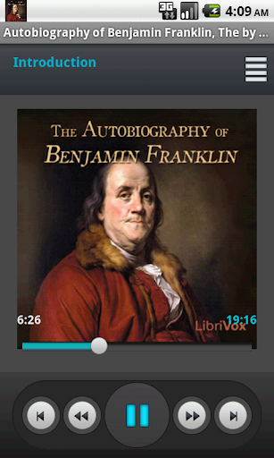 Autobiography of Ben Franklin.