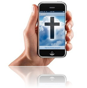Jesus iPhone cross
