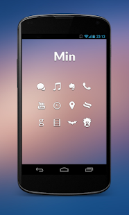 Min - Icon Set - screenshot thumbnail