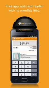 PayAnywhere Credit Card Reader - screenshot thumbnail