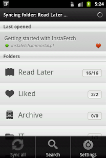 InstaFetch Lite - screenshot thumbnail