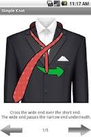 Screenshot of easy tie pro