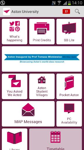 Aston University Student App