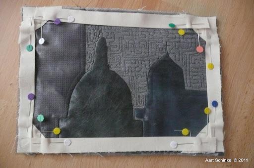 Afwerken Van Een Quilt.Aart S Paradijs Afwerken Van Een Art Quilt
