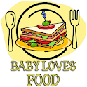 Baby Kid Loves Food logo