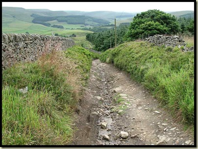 The track to Macclesfield Forest (a place)