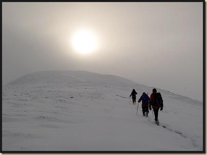 The summit cone of Creag nan Gabhar