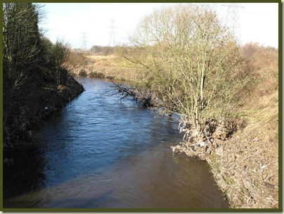 The River Mersey at Stretford