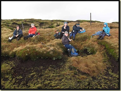 Lunch on Bleaklow Hill - 12/2/11