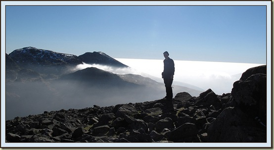 A view from Great Gable - 2/3/11