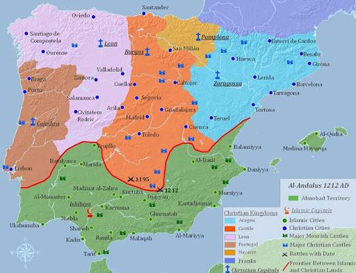 Mapa España Siglo Xv.El Que Lee Mucho Y Anda Mucho Ve Mucho Y Sabe Mucho