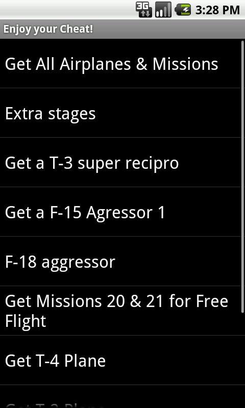 Game Cheats- screenshot