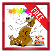 Scooby Dog Coloring Game