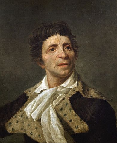 late 18th century --- <Portrait of Marat> --- Image by © Gianni Dagli Orti/CORBIS