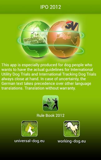 Rule Book 2012