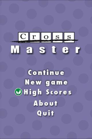 CrossMaster- screenshot