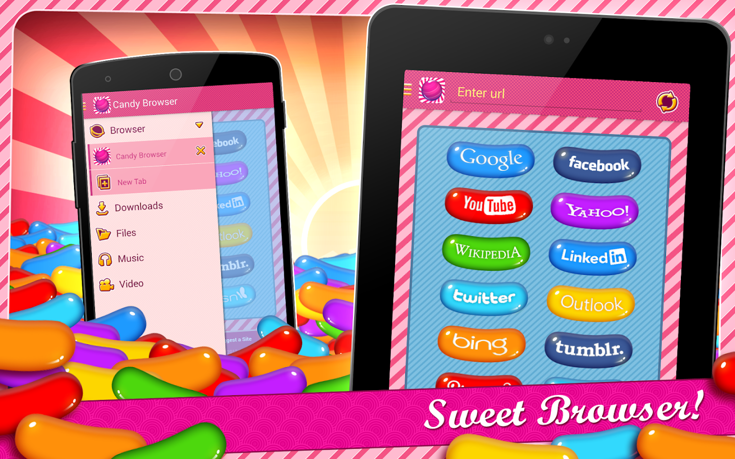 Screenshots of Candy Browser for Android for Android