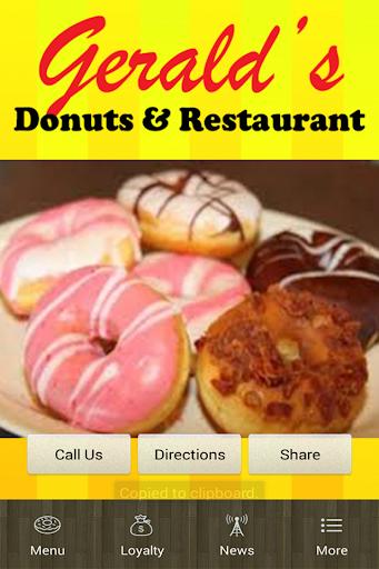 Gerald's Donuts Restaurant