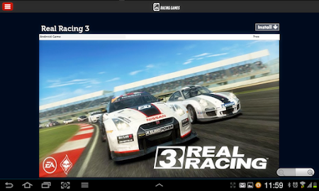 Racing Games Access For Tablet 1.0 screenshot 68207