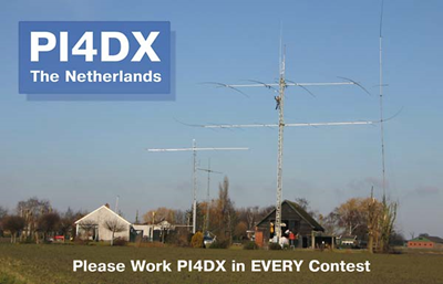Ham radio station PI4DX