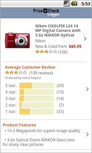 Price Check by Amazon - screenshot thumbnail