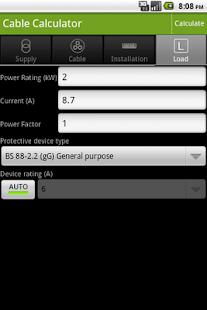 Cable Calculator- screenshot thumbnail