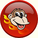 Blazing Monkey Free UK Ads logo