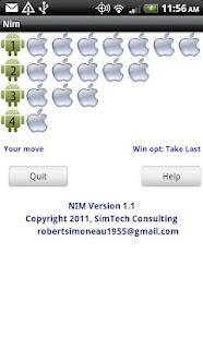 Nim For Tablets- screenshot thumbnail
