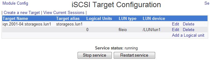 Aries's Sysadmin Blog: How To: Free iSCSI storage with Fedora 10