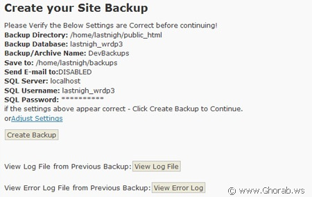 wordpress-ez-backup