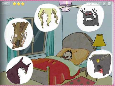 【免費書籍App】Closet Monster- Kids Storybook-APP點子