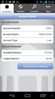 Screenshot of InTouch Credit Union Banking
