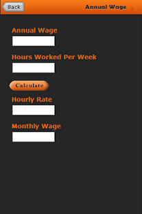 Salary Rate Calculator- screenshot thumbnail
