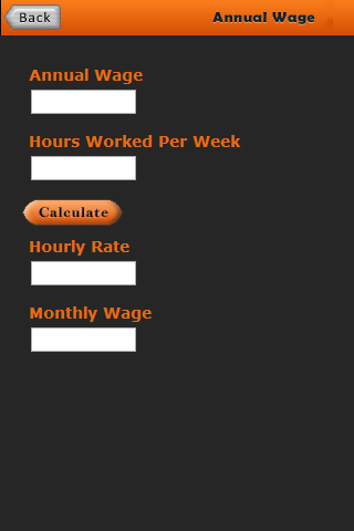 Salary Rate Calculator- screenshot