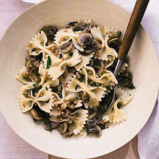 Pasta with Mushrooms and Kasha Recipe